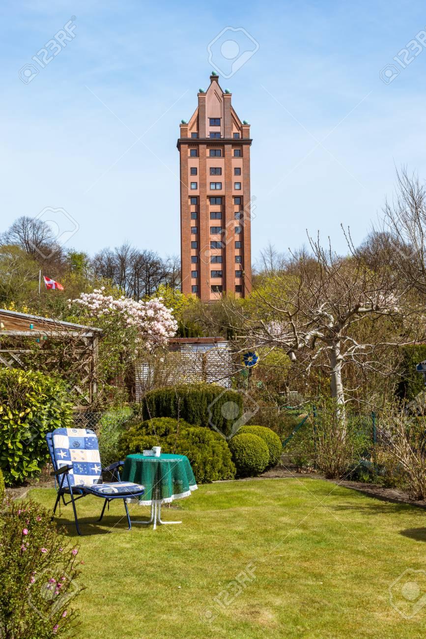 Water Tower Hamburg Stellingen. Beautiful Inner City Water Tower ...