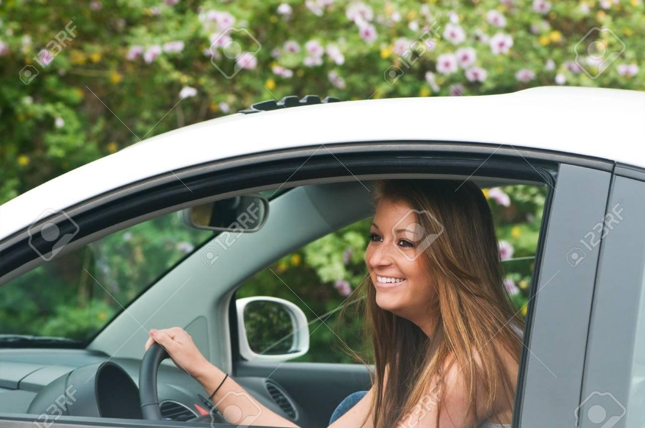 Teen girl first car