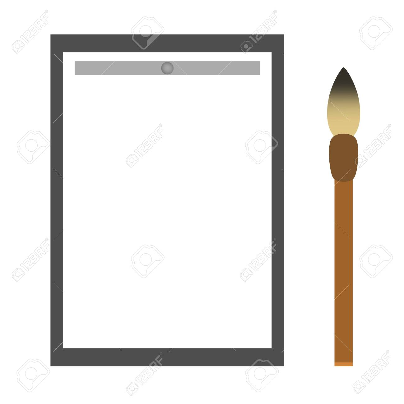 Tool of calligraphy - 121943855