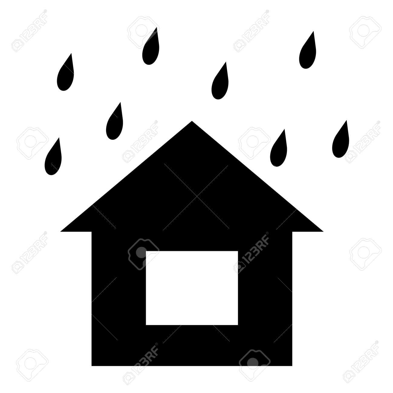 It's raining on the house - 156728609