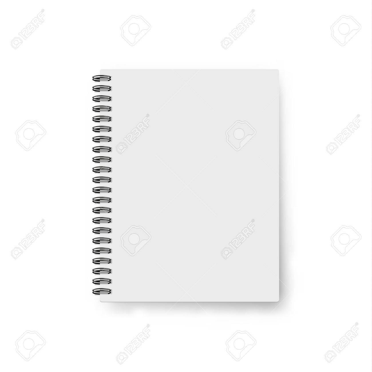 現実的なノートブック。テンプレ...