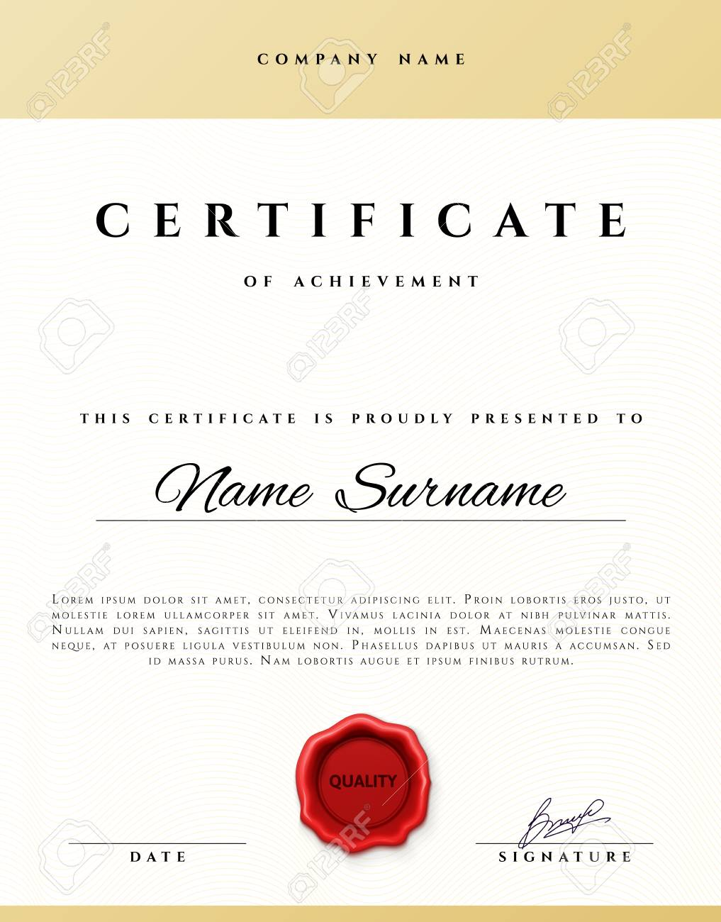 Certificate Design. Certificate Border. Certificate Frame... Royalty ...