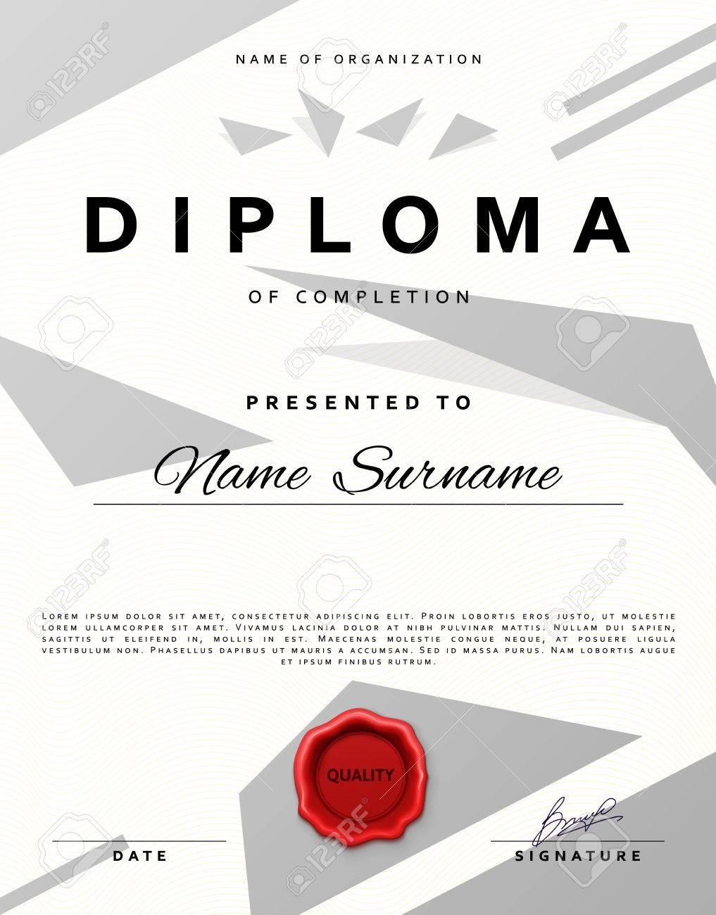 Certificate Design Certificate Border Certificate Frame Royalty