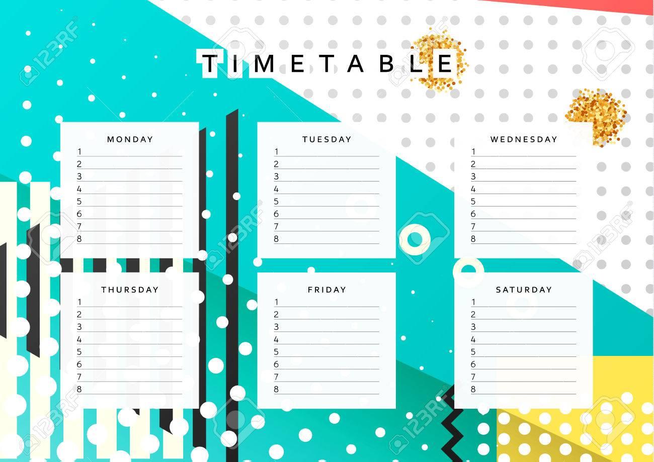 planner calendar schedule the week abstract design background