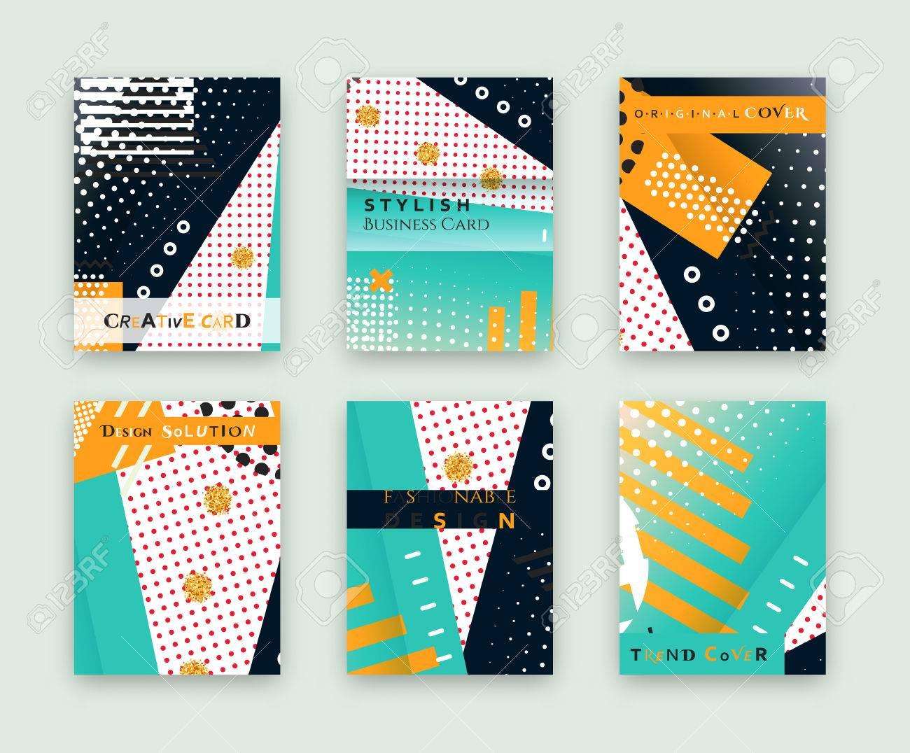 Couverture Originale La Mode Carte De Visite Lgant Conception