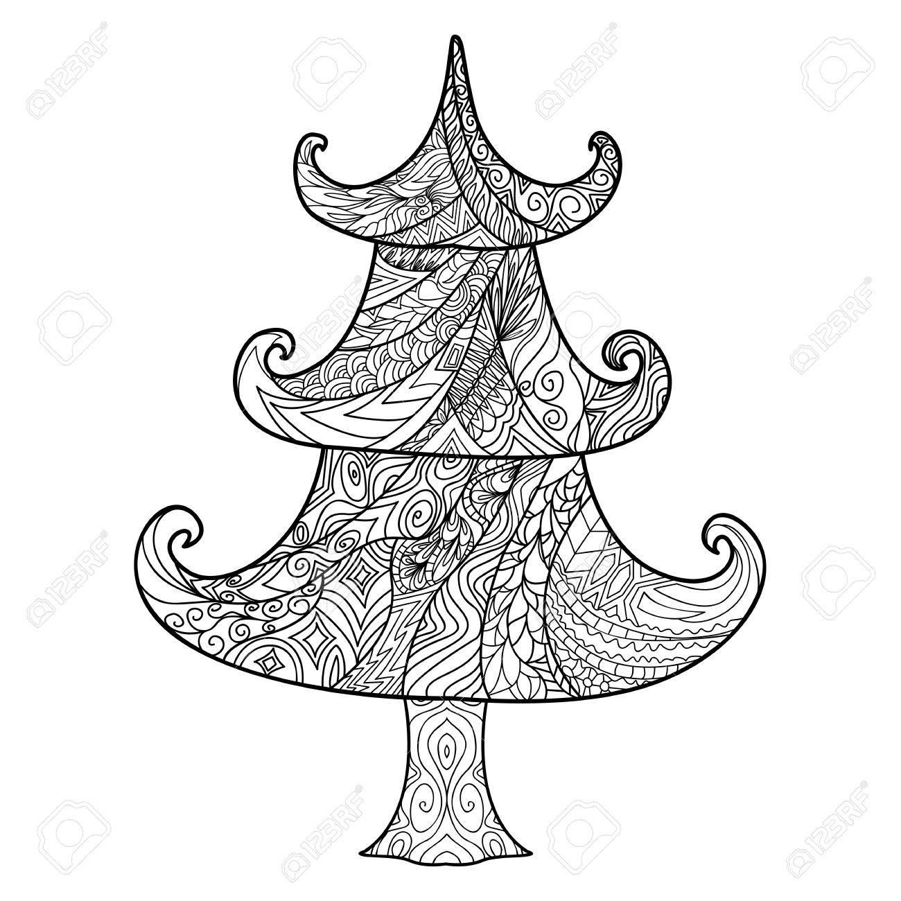 RBol De Navidad Elemento De Diseño Zendoodle. Plantilla De Tarjetas ...