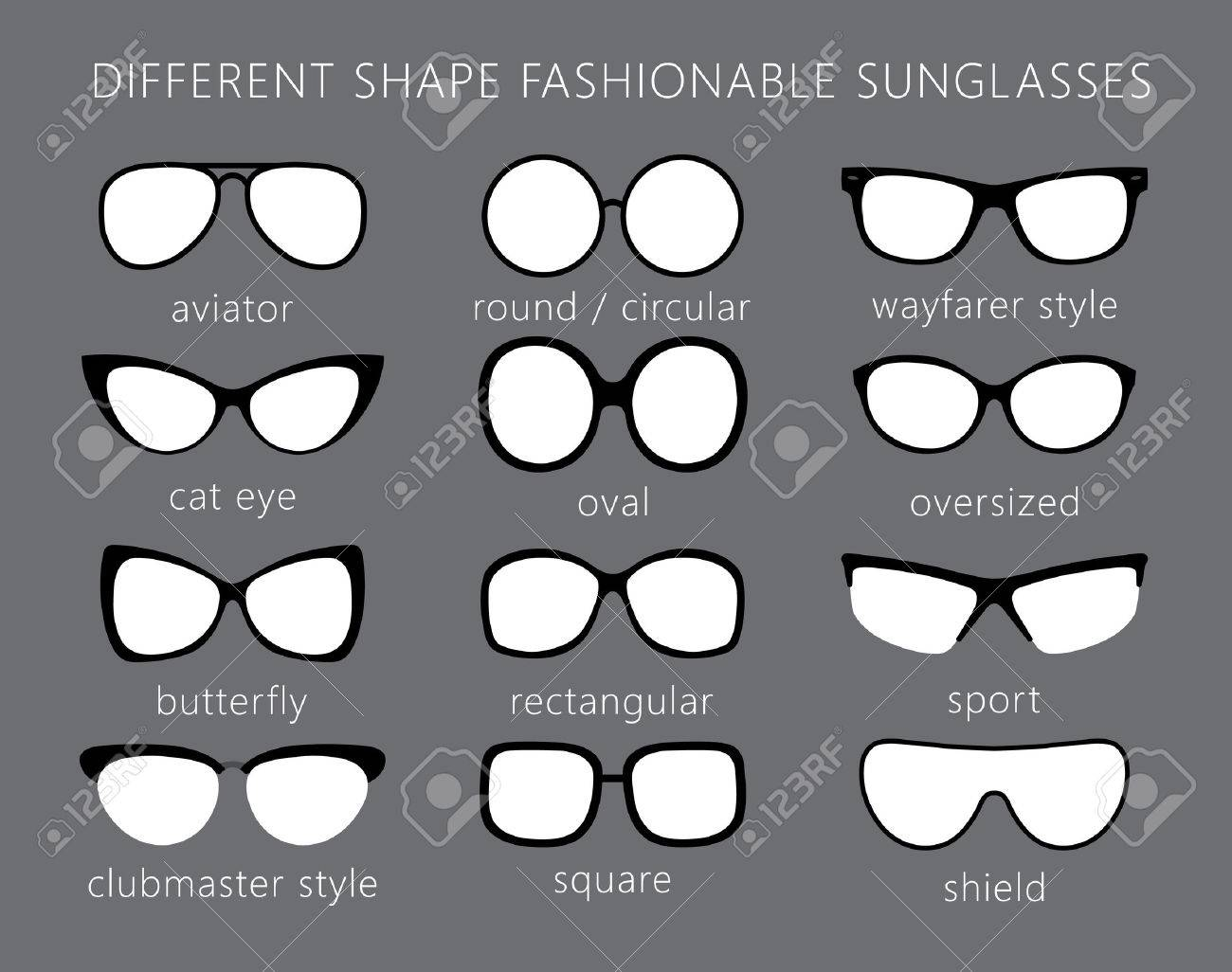 4840222a5b All Forms   Types Of Fashionable Sunglasses. Aviator