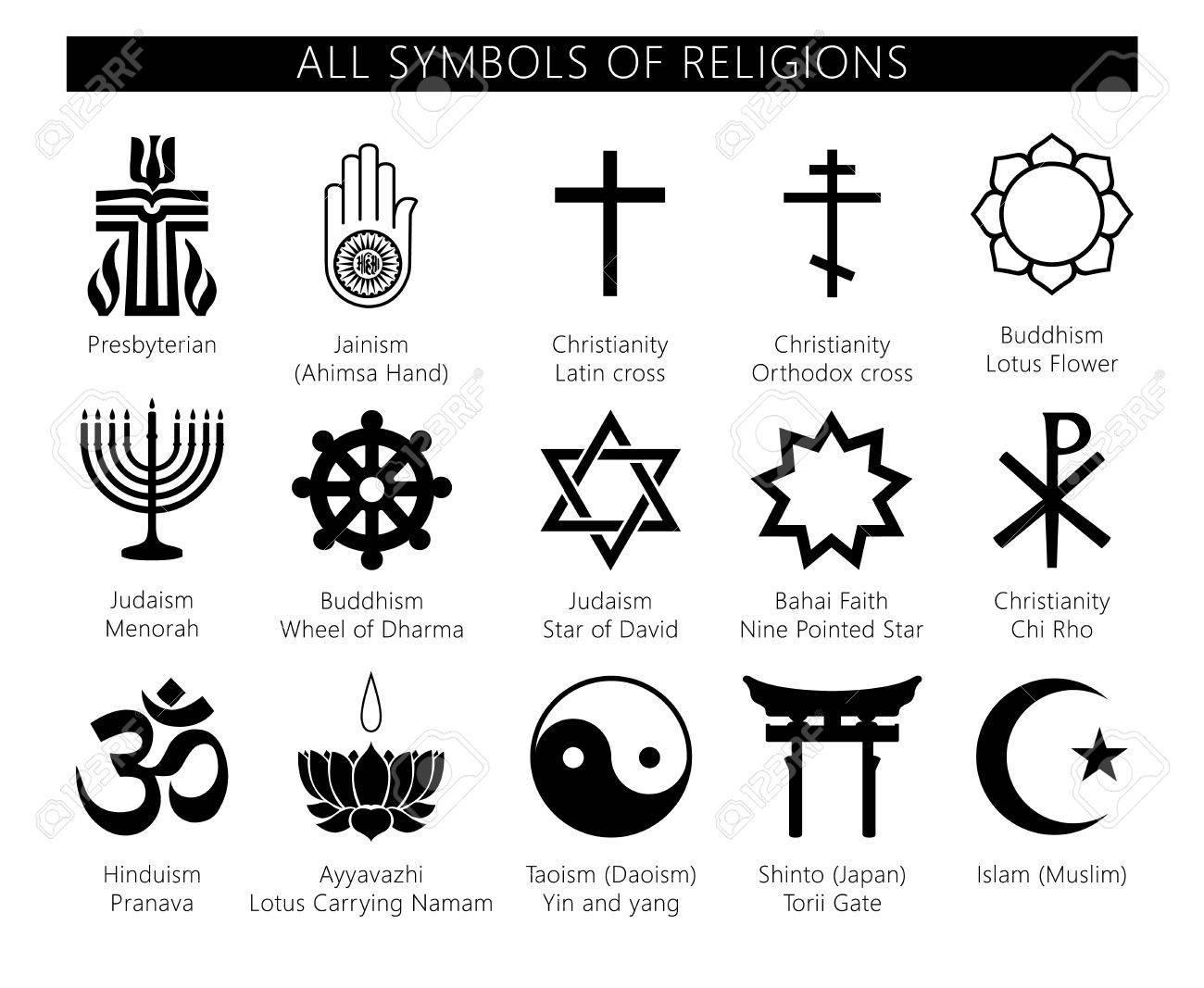 Religion icons set set of 19 religion black icons buddhism religion icons set set of 19 religion black icons buddhism christianity judaism dhlflorist Choice Image
