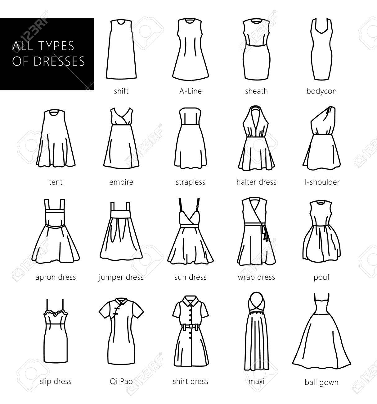 Dress Types Styles