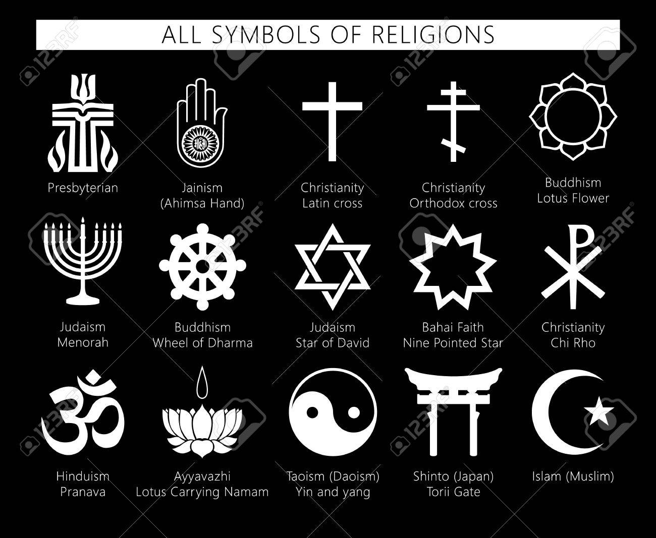 Religion icons set set of 19 religion black icons buddhism religion icons set set of 19 religion black icons buddhism christianity judaism buycottarizona