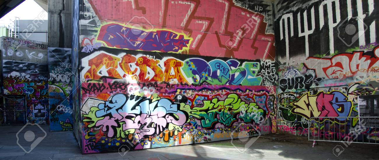 Londons south bank skate parkthe undercroft with graffitis londons south bank skate park thecheapjerseys Gallery