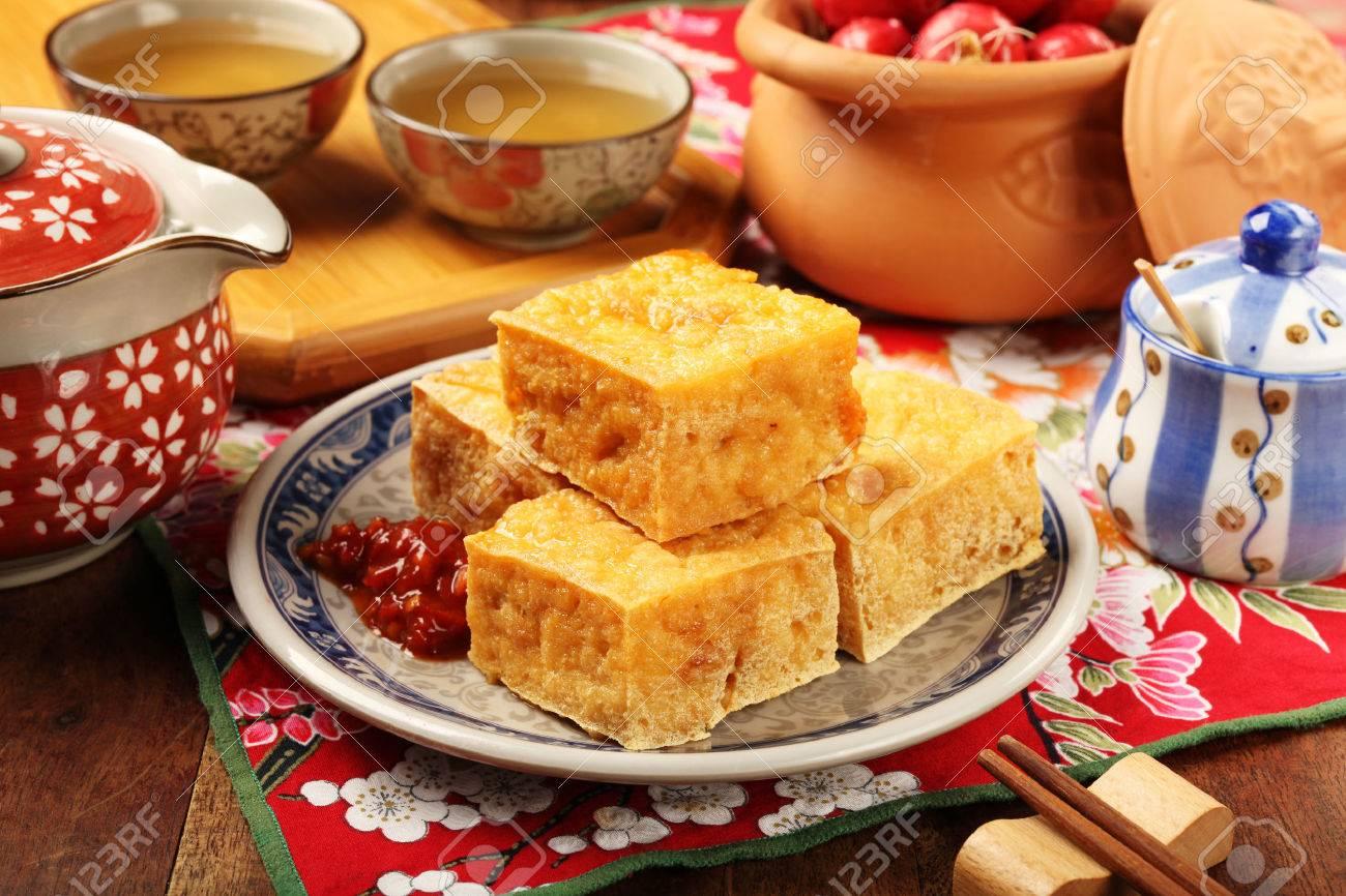 Stinky Tofu Chicago Famous Snack Stinky Tofu