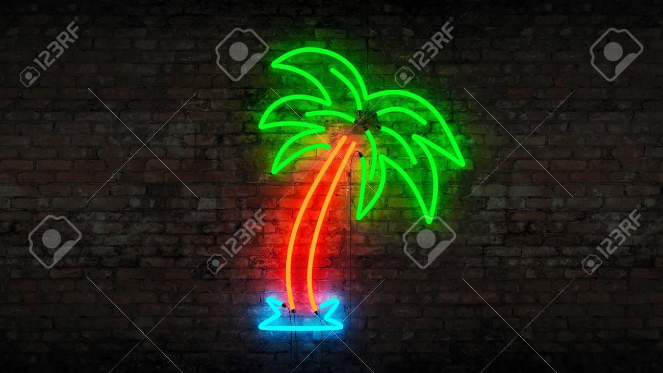 palmier neon