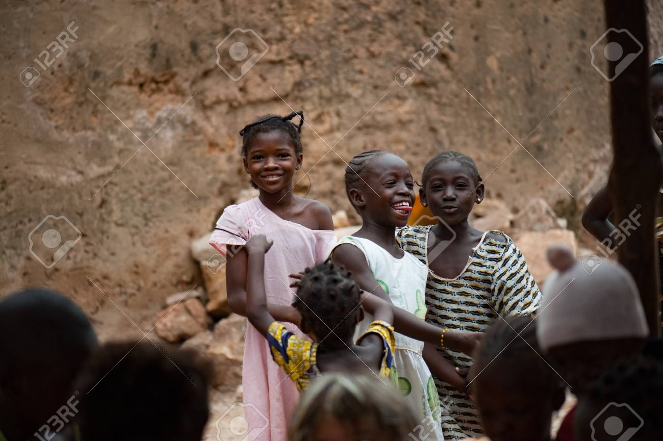 Mali Africa Circa August 2009 Black African Young Girl Stock Photo Picture And Royalty Free Image Image 111810367