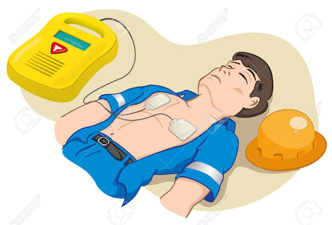 illustration is an employee portable defibrillator for illustration is an employee portable defibrillator for resuscitation ideal for tutorials relief and medical
