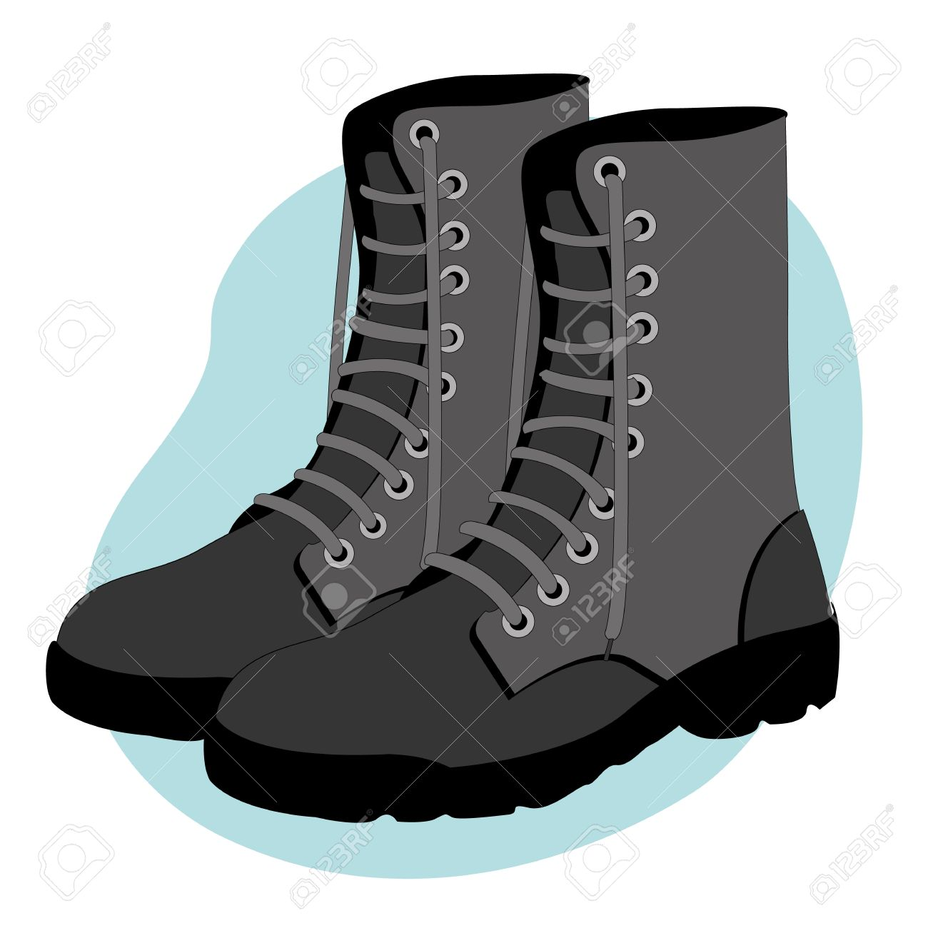 Military Boots uk Military Boots Illustration