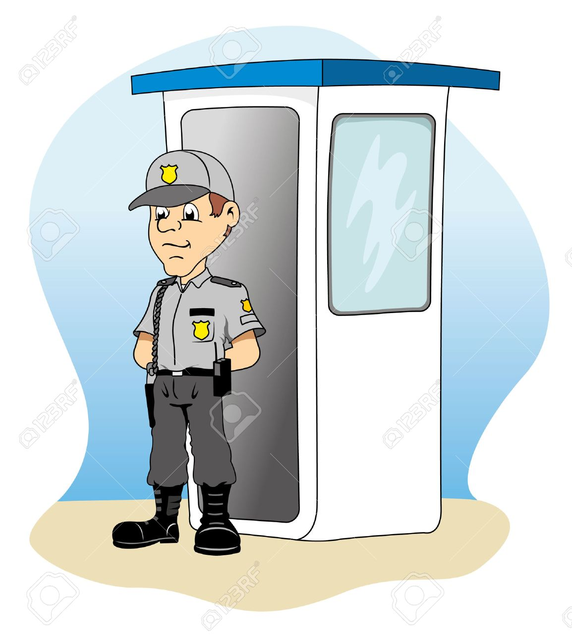 job security in a guardhouse standing guard ideal for training job security in a guardhouse standing guard ideal for training material and institutional stock