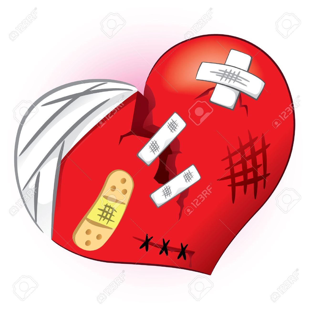 Icon or symbol of a broken heart and bruised ideal for icon or symbol of a broken heart and bruised ideal for informational and institutional related buycottarizona