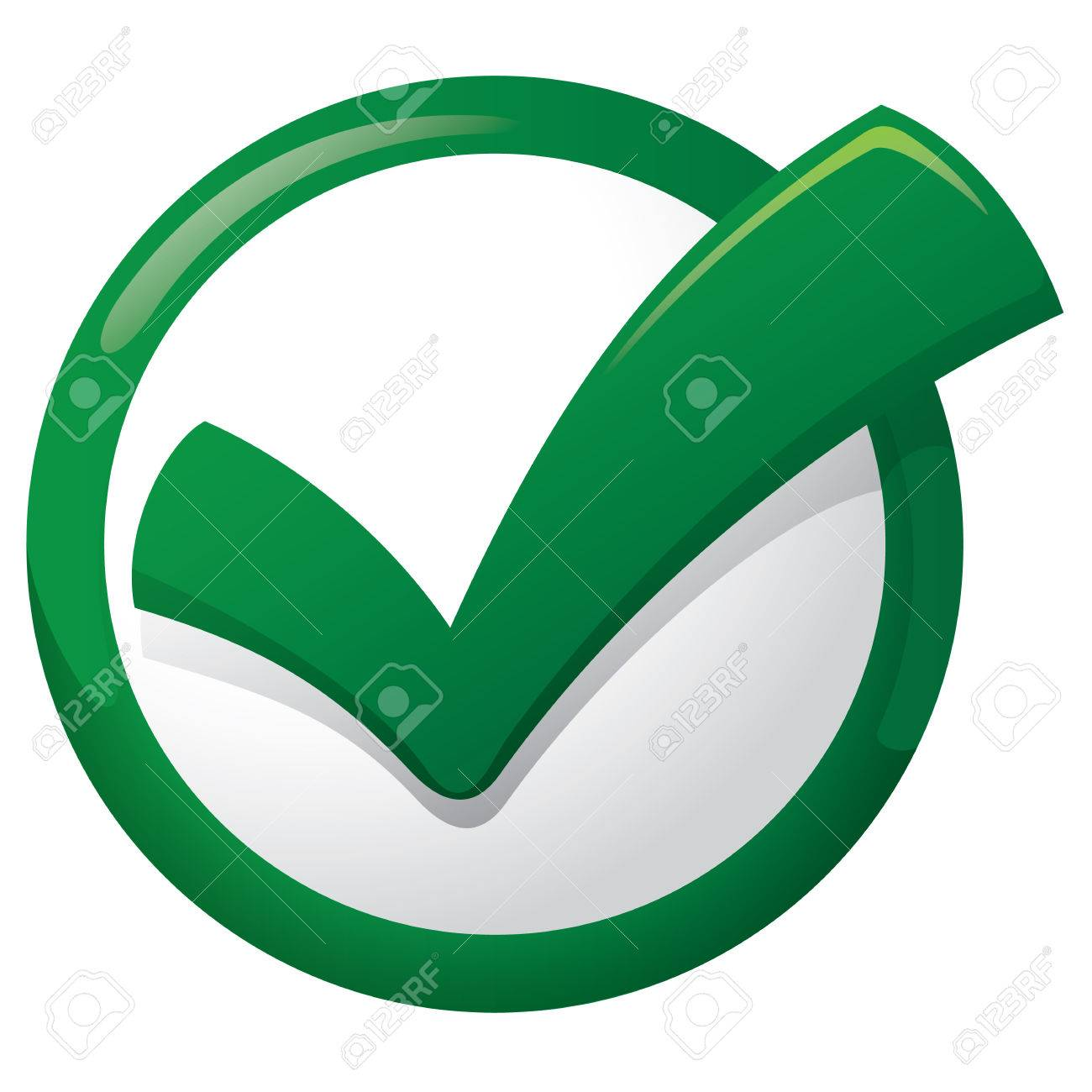 Illustration representing Icon sure button, right, okay, yes, tick. Ideal for informational and institutional materials - 51172916