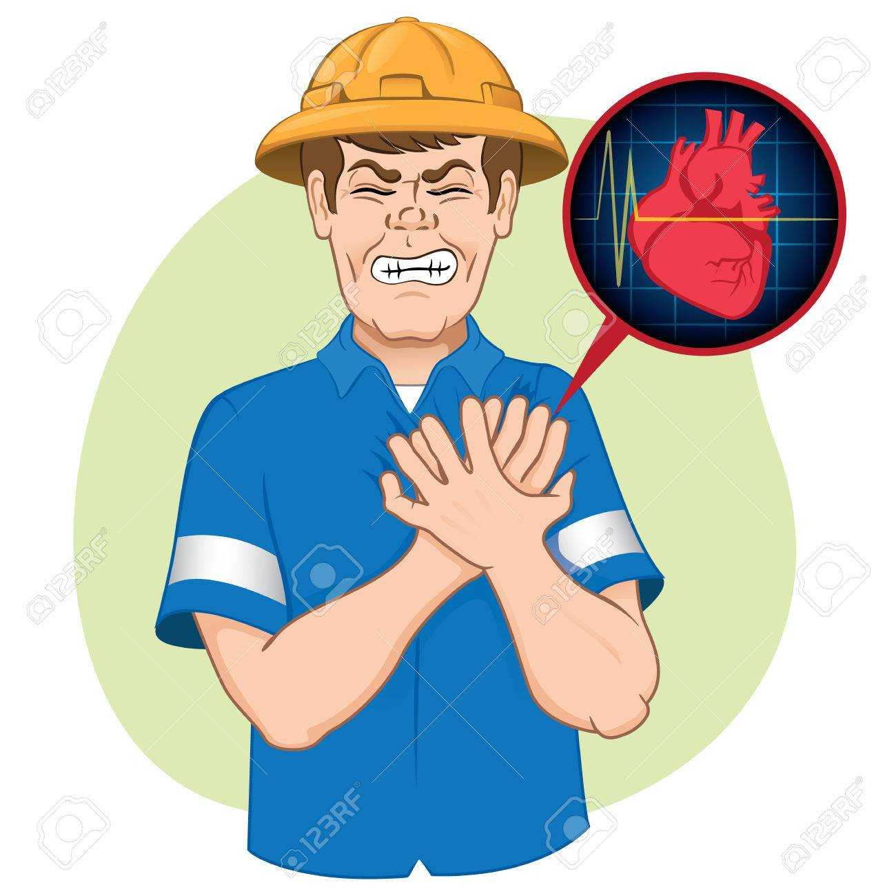 illustration is first aid employee suffering a heart attack illustration is first aid employee suffering a heart attack cpr ideal for relief