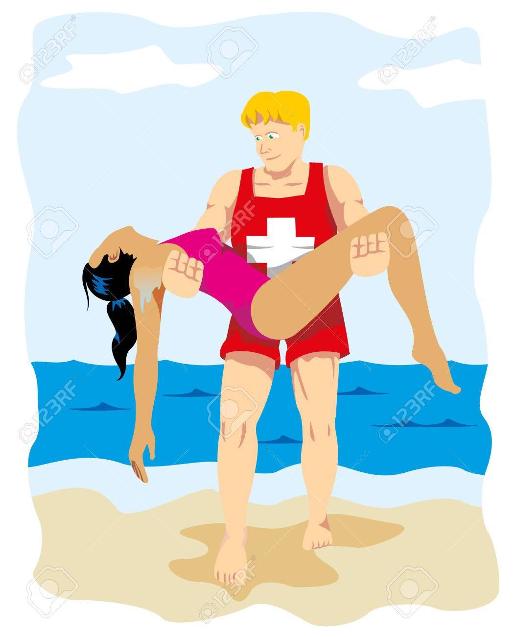 Saves lives by saving drowning victim - 72105111