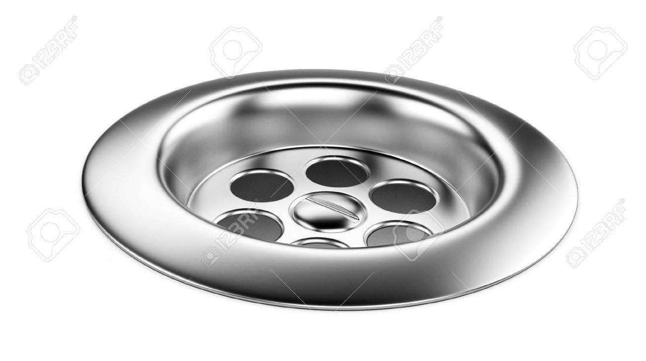 bath chrome sink isolated on a white background Stock Photo - 21999385