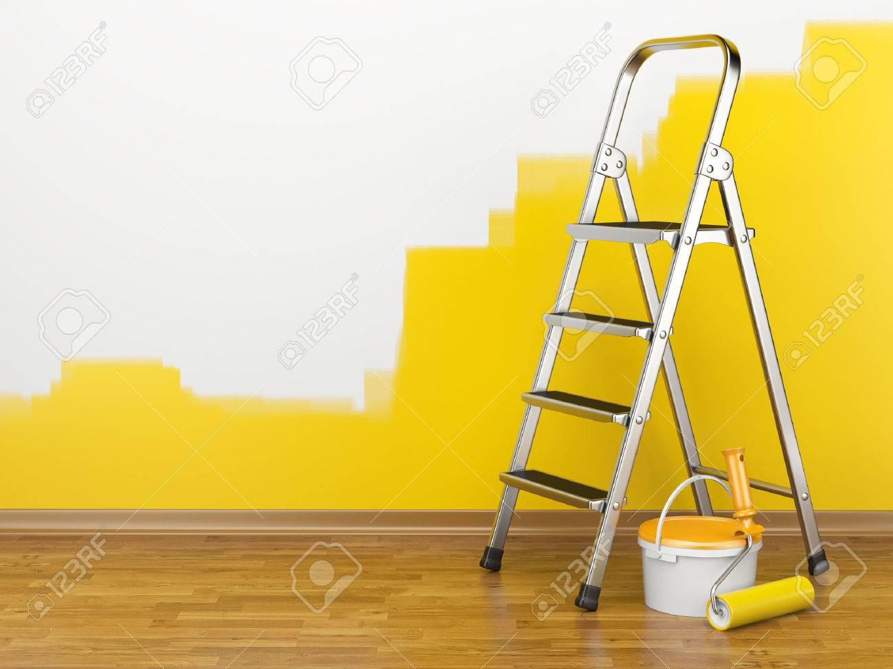 Wandfarbe Lizenzfreie Vektorgrafiken Kaufen: 123RF