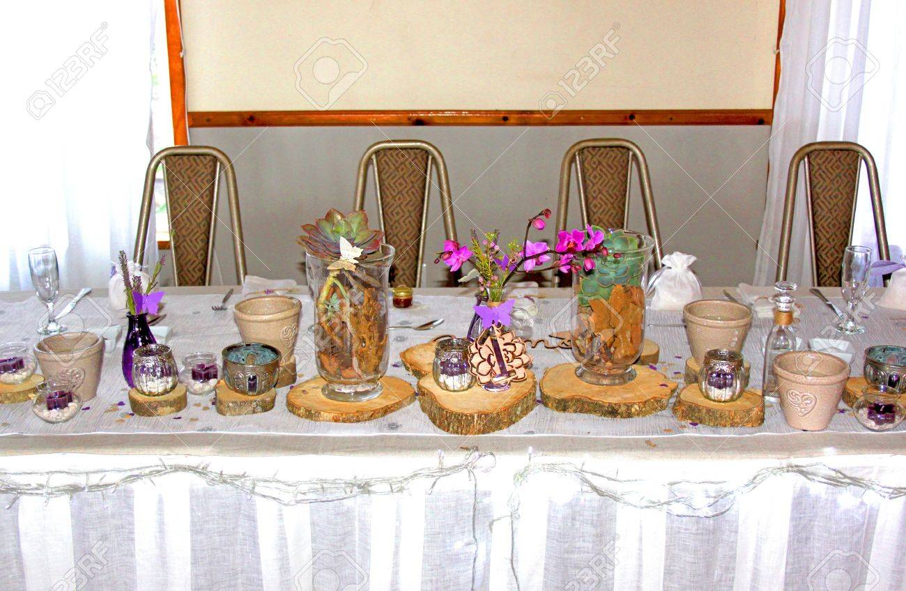Main wedding ceremony table with african theme decorations stock main wedding ceremony table with african theme decorations stock photo 21969391 junglespirit Gallery
