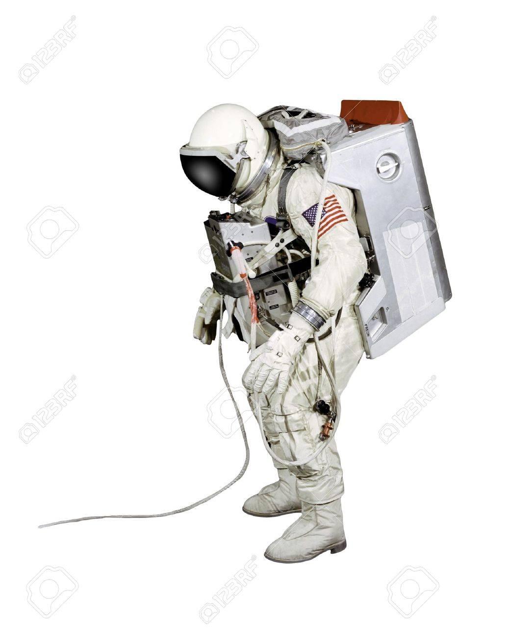Astronaut on a white background Stock Photo - 9468726