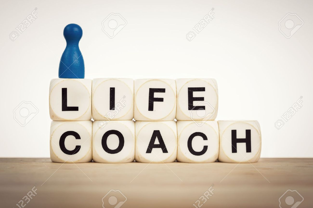 life coach concept aim towards helping people identify and life coach concept aim towards helping people identify and achieve personal goals stock photo