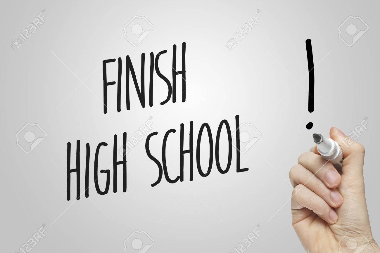 Writing in high school