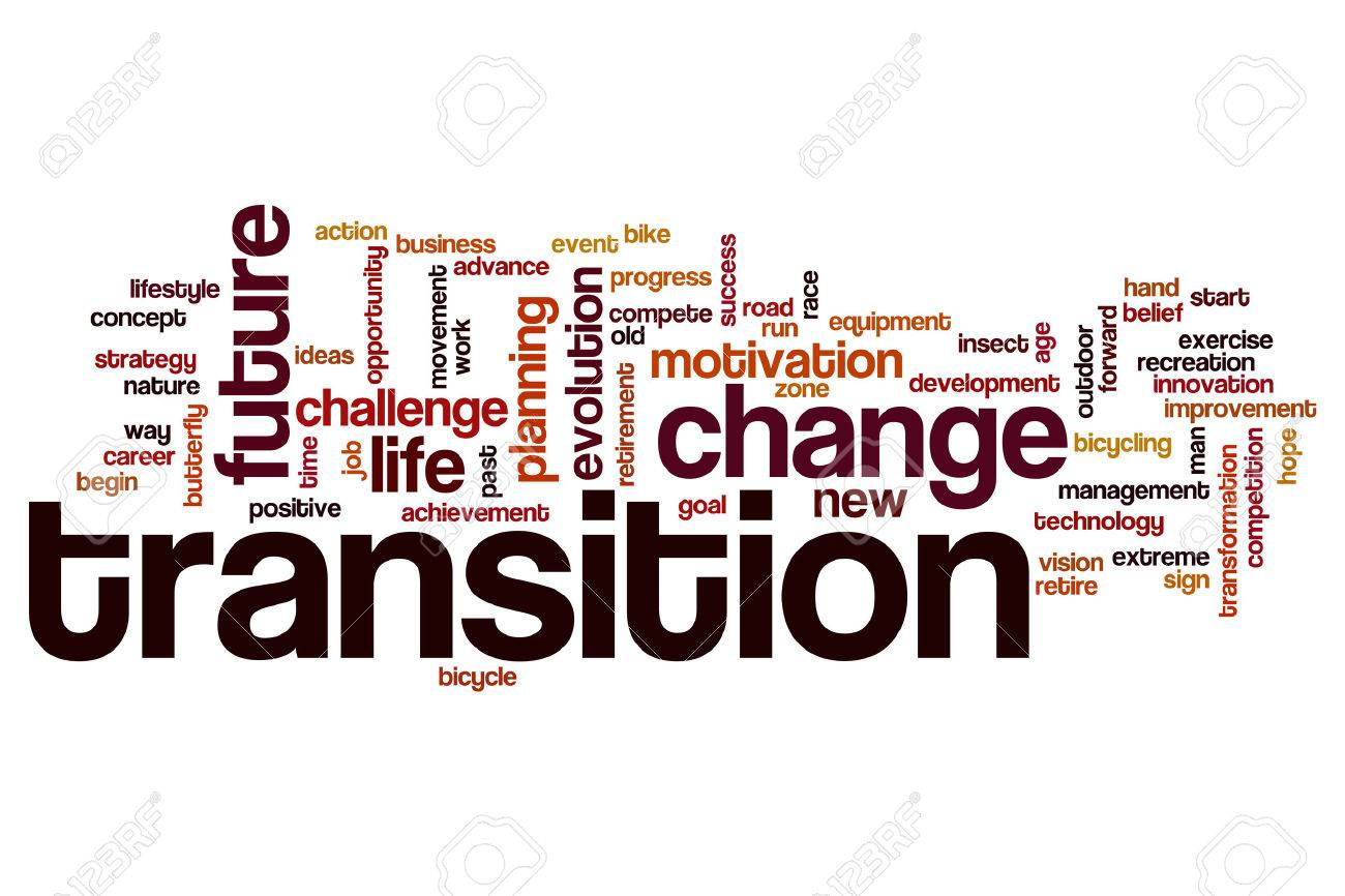 Transition word cloud - 48723383