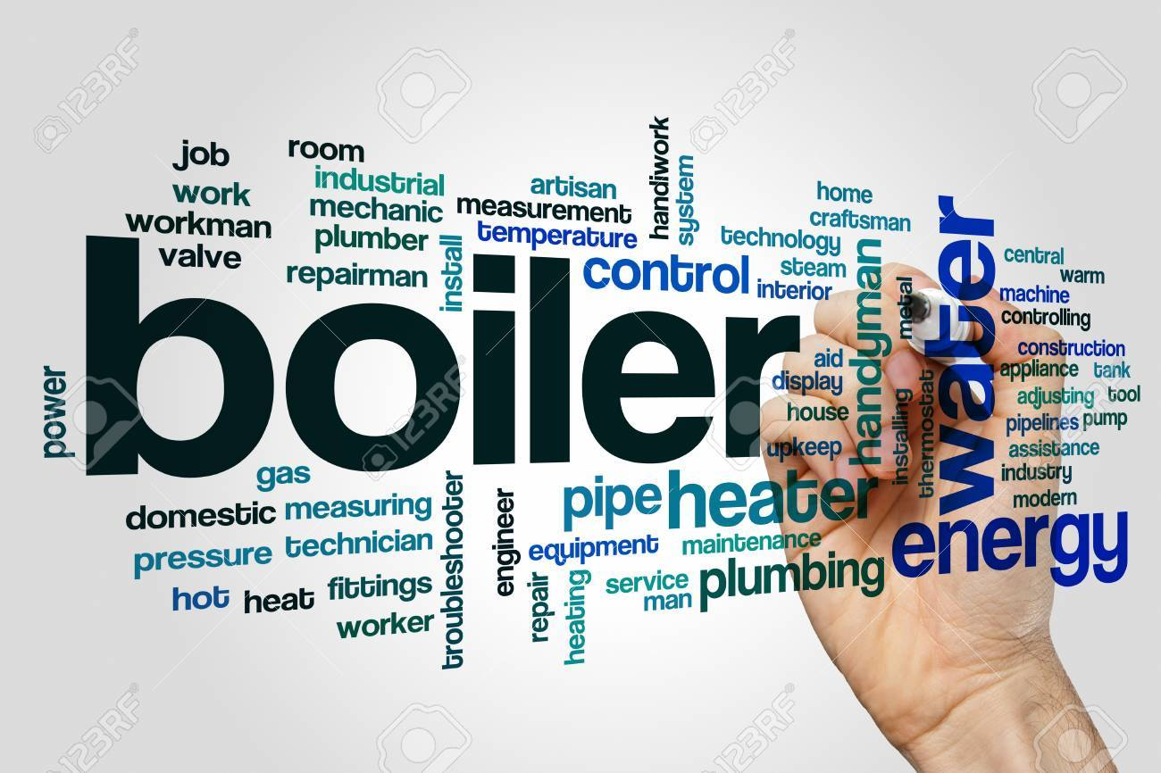 Boiler Word Cloud Stock Photo, Picture And Royalty Free Image. Image ...
