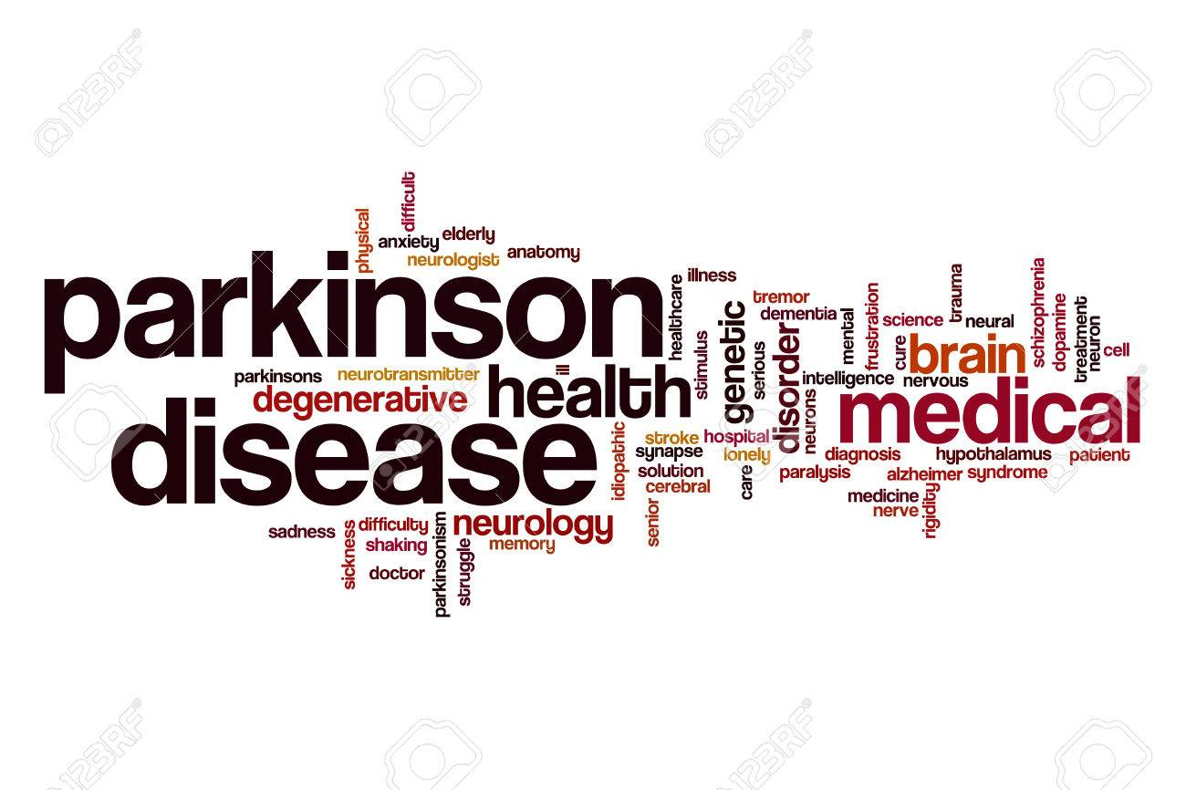 Parkinson Disease Word Cloud Stock Photo, Picture And Royalty Free ...