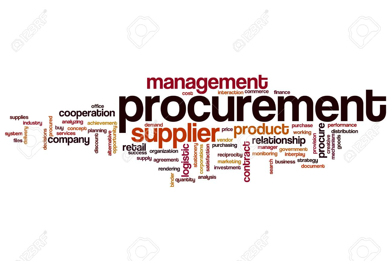 Procurement Word Cloud Concept Stock Photo, Picture And Royalty ...