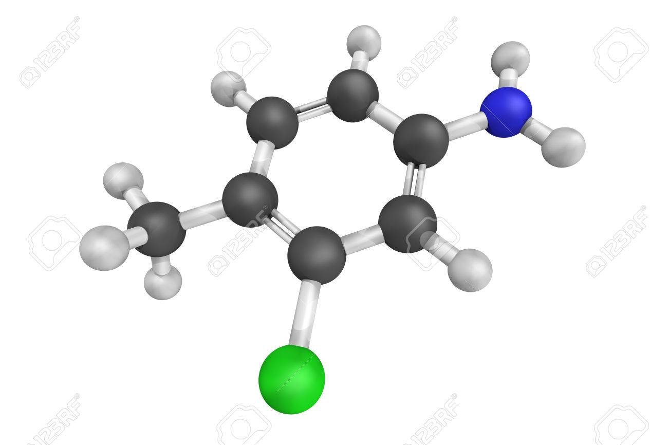 3d structure of Starlicide or gull toxicant, a chemical avicide
