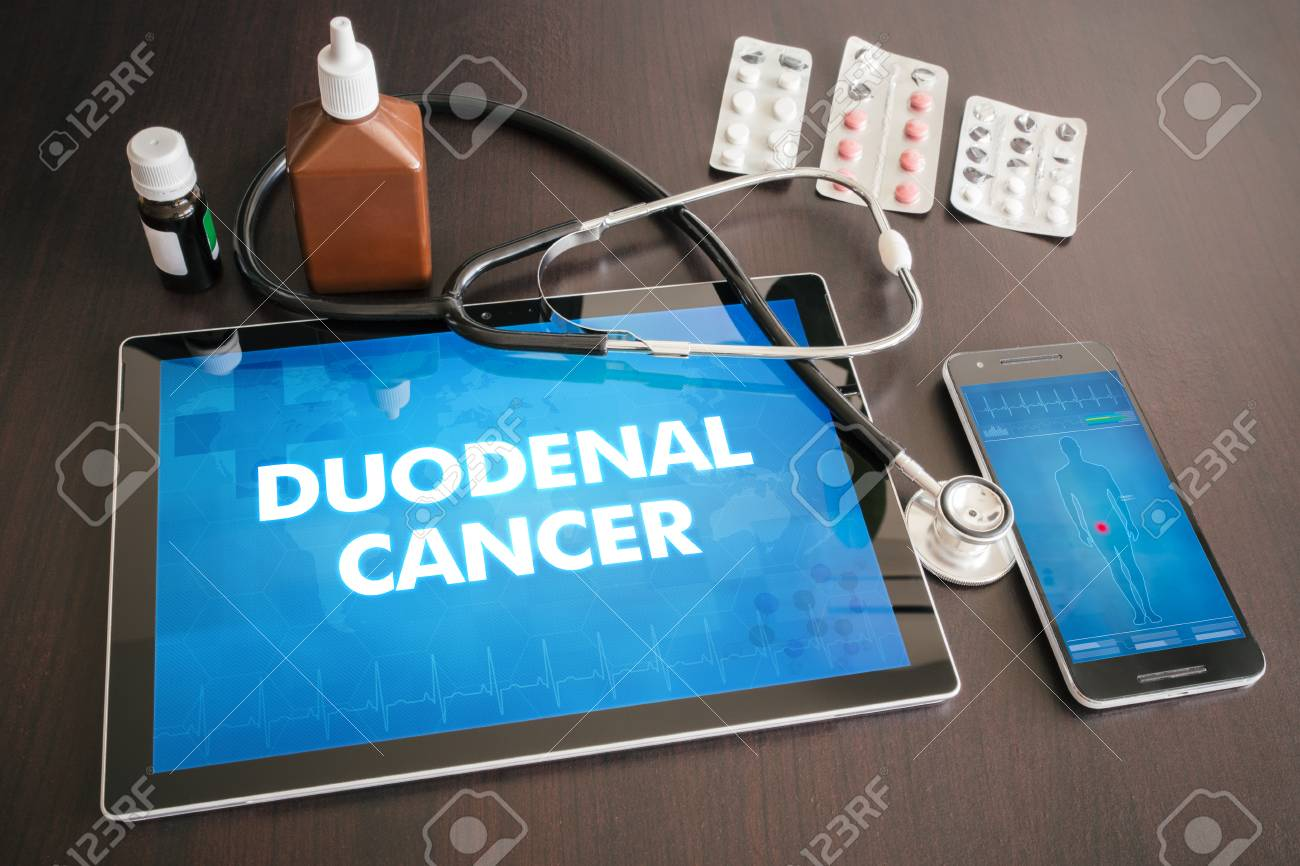 Duodenal cancer (gastrointestinal disease) diagnosis medical