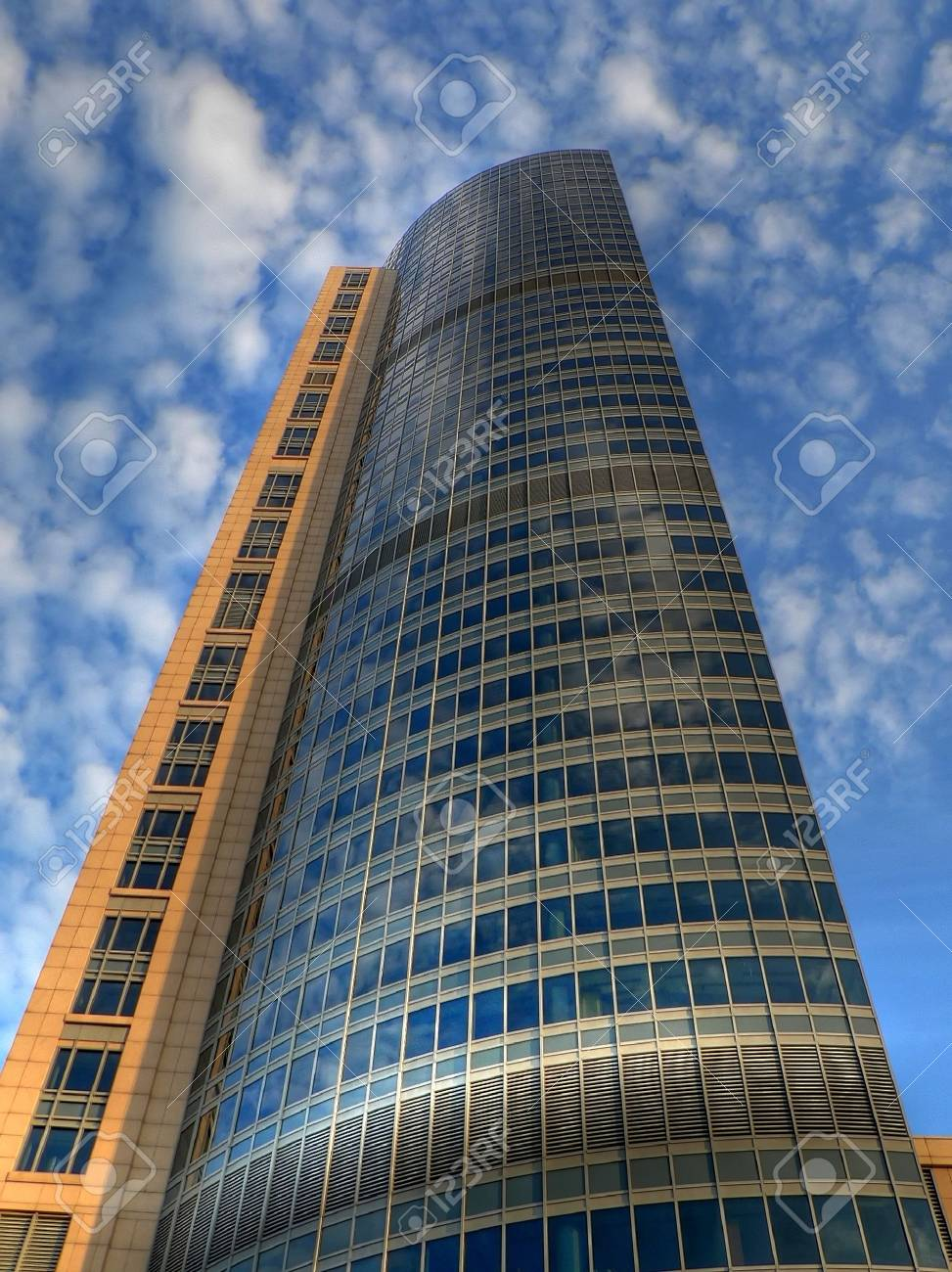 One of the new skyscaper in Warsaw Poland Stock Photo - 1312994