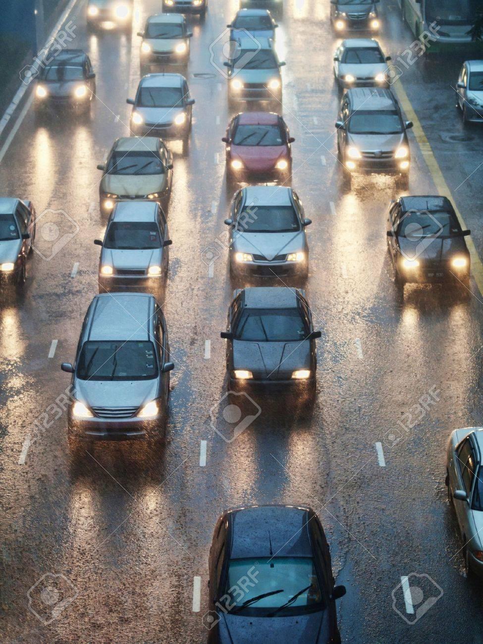 Traffic jam Stock Photo - 8370496
