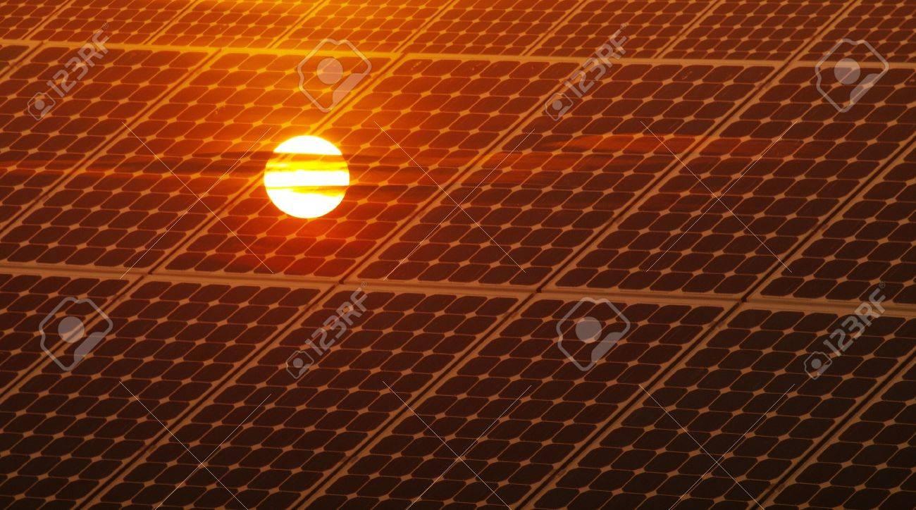 Photovoltaic energy Stock Photo - 10380950