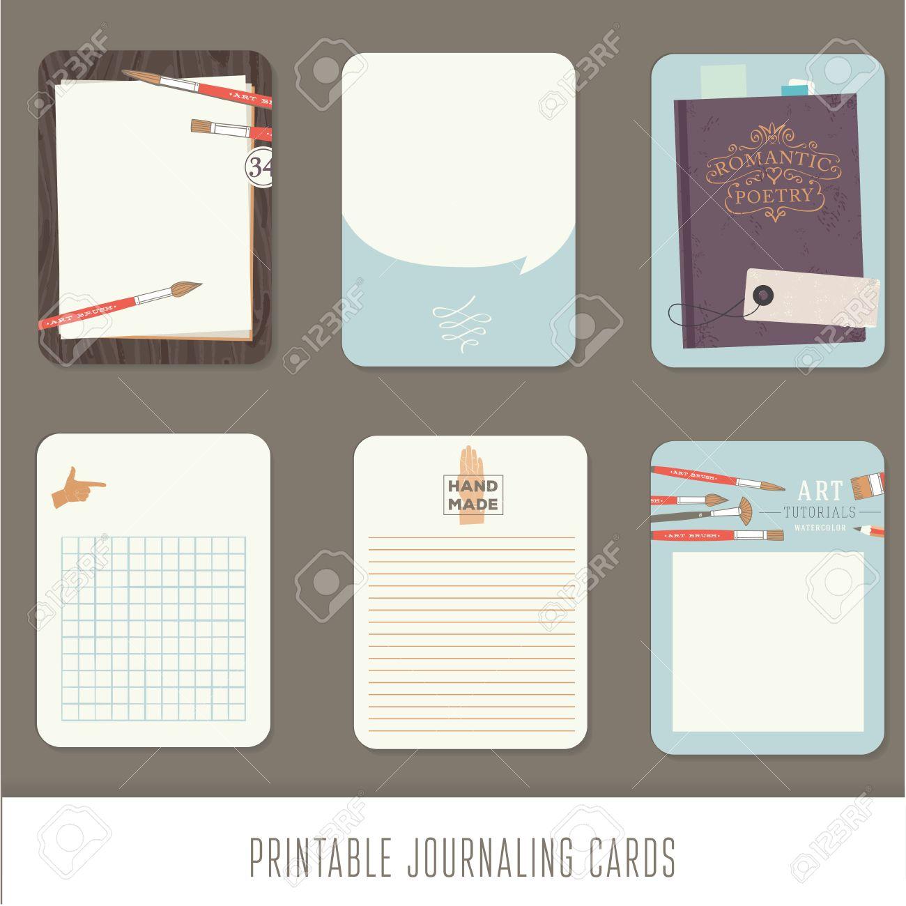 ジャーナル カードノートシールラベルタグのかわいい装飾的な