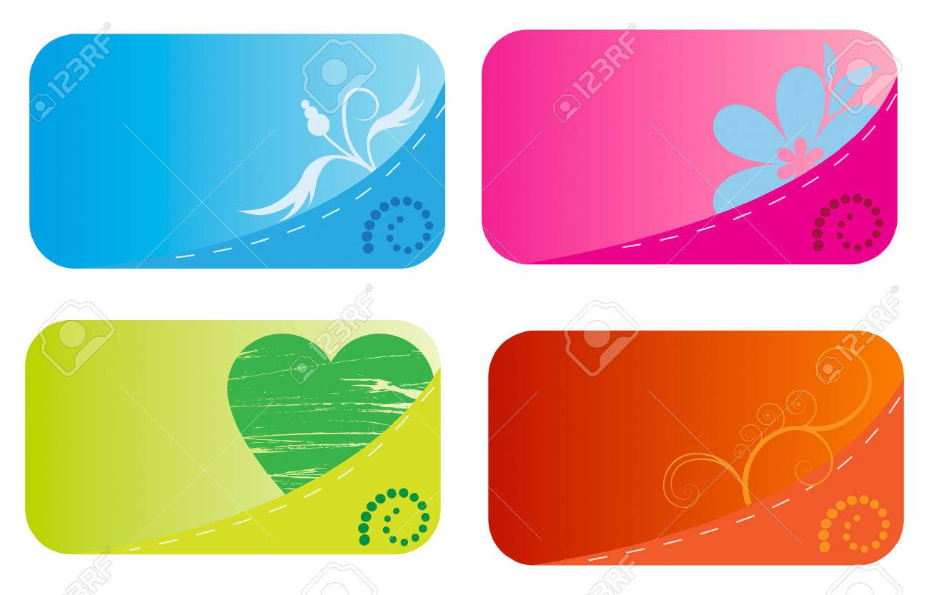 Templates of funny business cards with pockets royalty free cliparts templates of funny business cards with pockets stock vector 4632746 wajeb Image collections