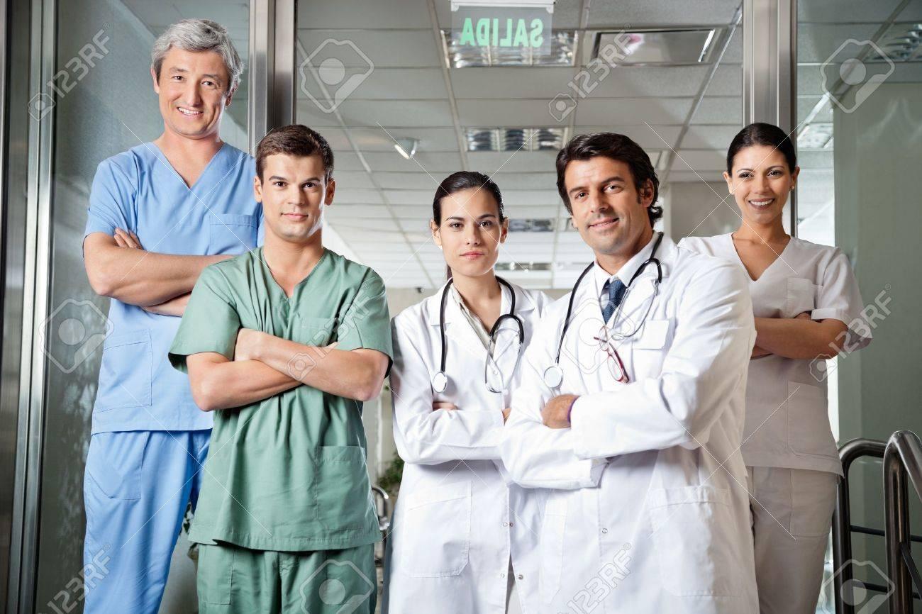 Confident Medical Professionals Stock Photo - 20237876