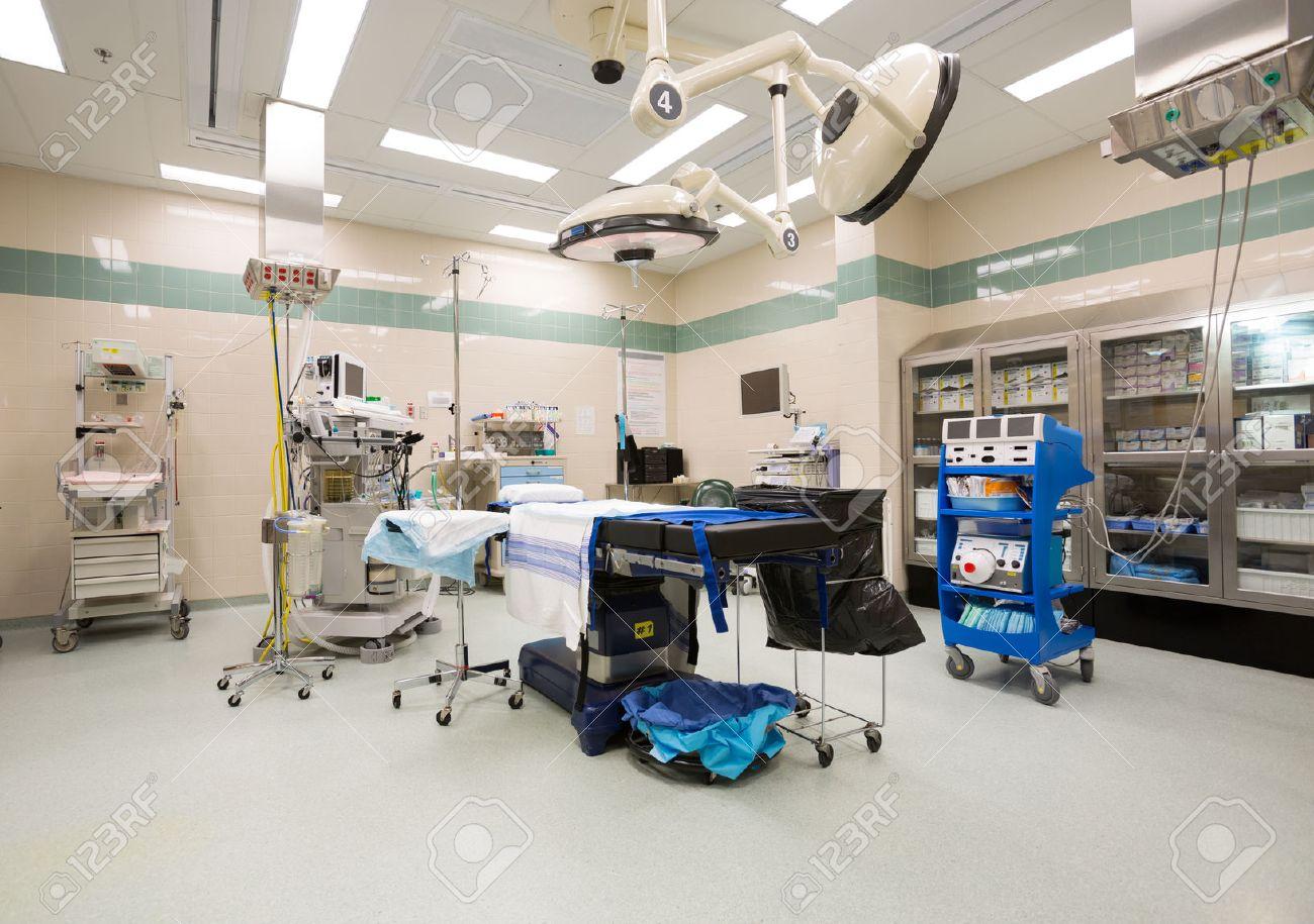 Modern hospital operating room - Interior Of Operation Room Stock Photo 25304492