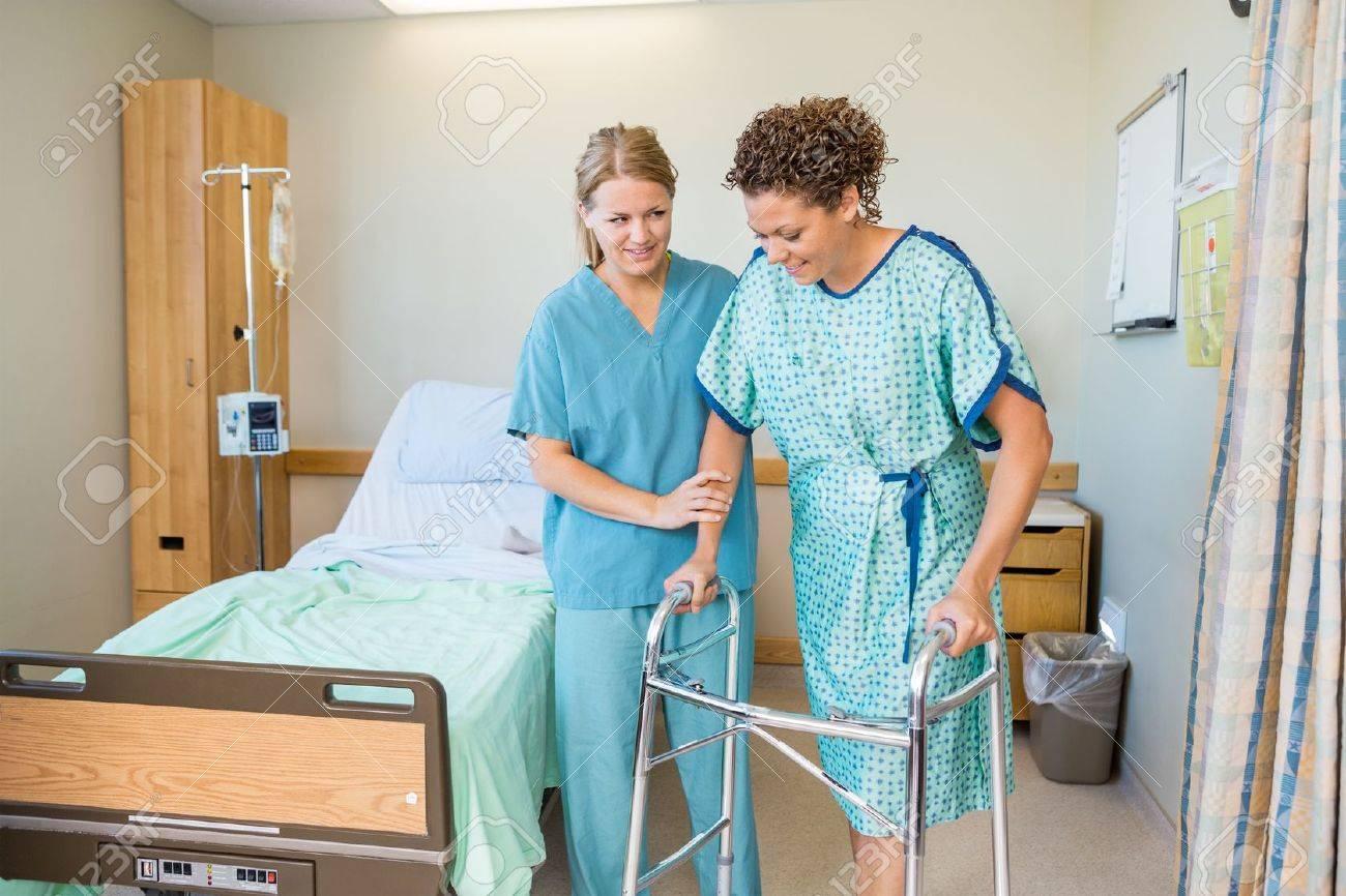 Patient aus einer Krankenschwester