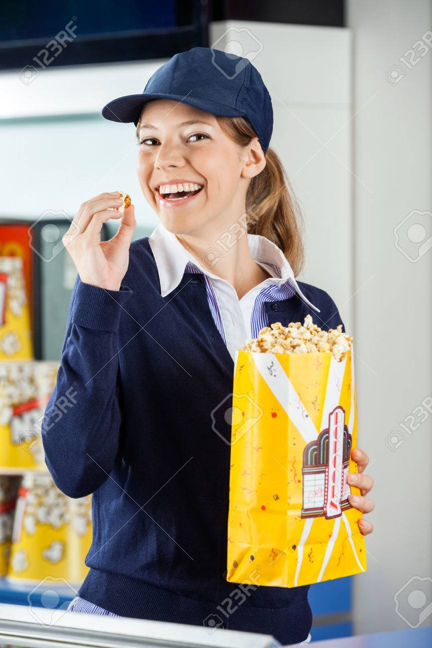 concession stand worker