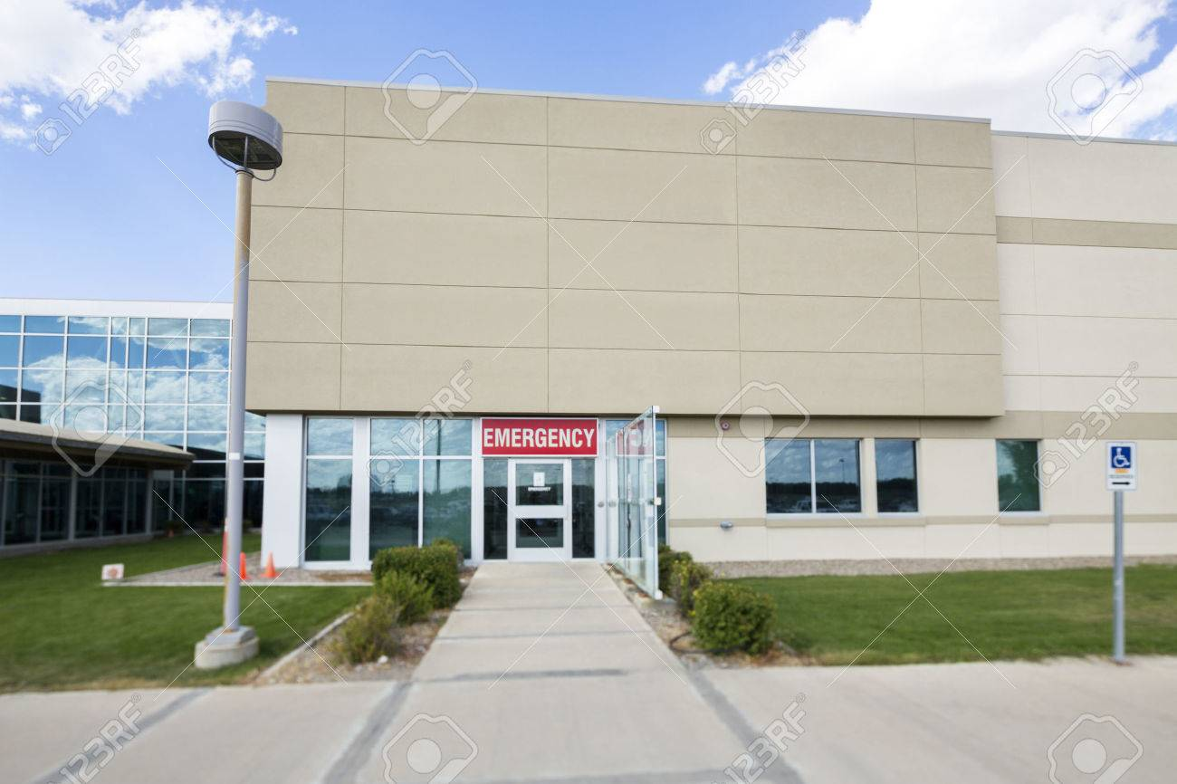 Hospital building with emergency entrance stock photo picture and hospital building with emergency entrance stock photo 72415499 thecheapjerseys Choice Image