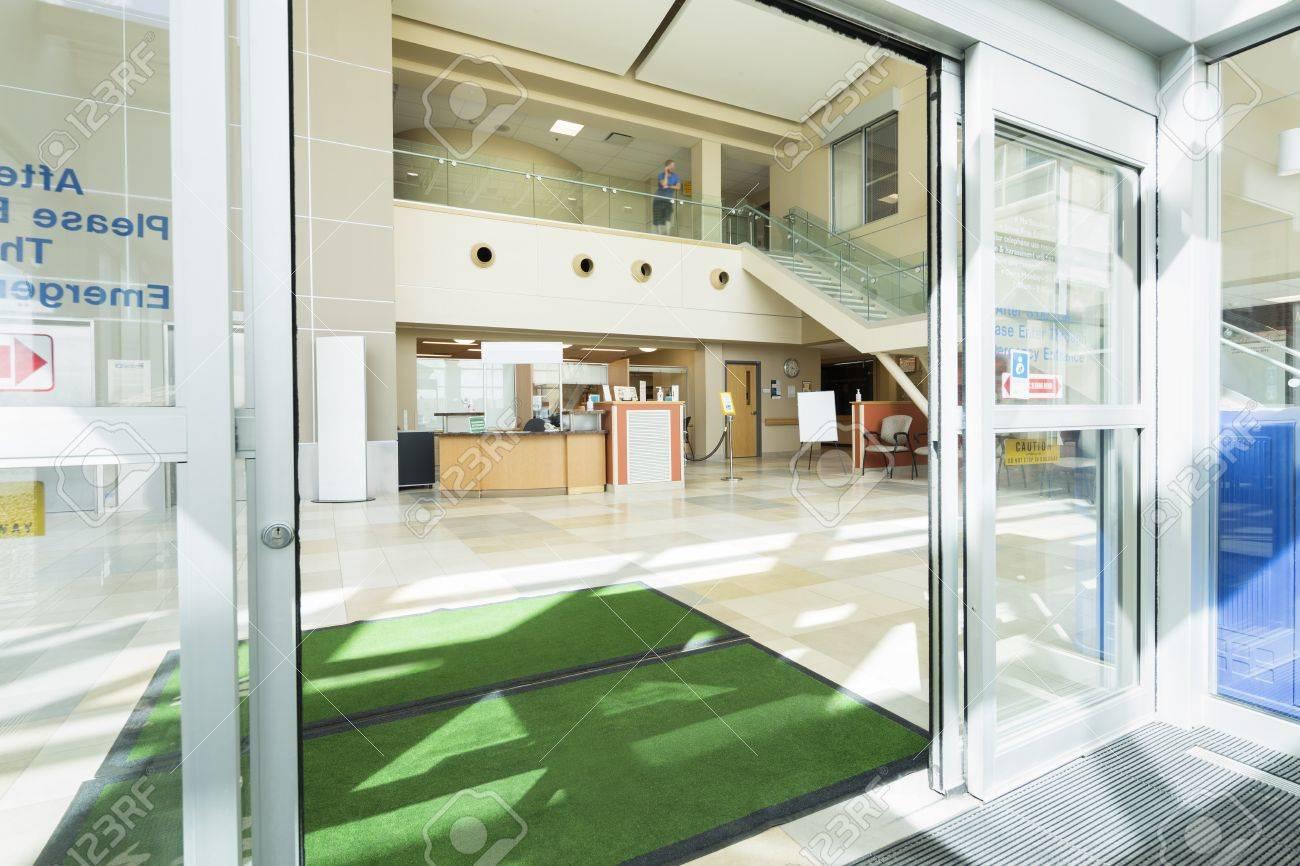 Door Mats At The Entrance Of Hospital - 73005831