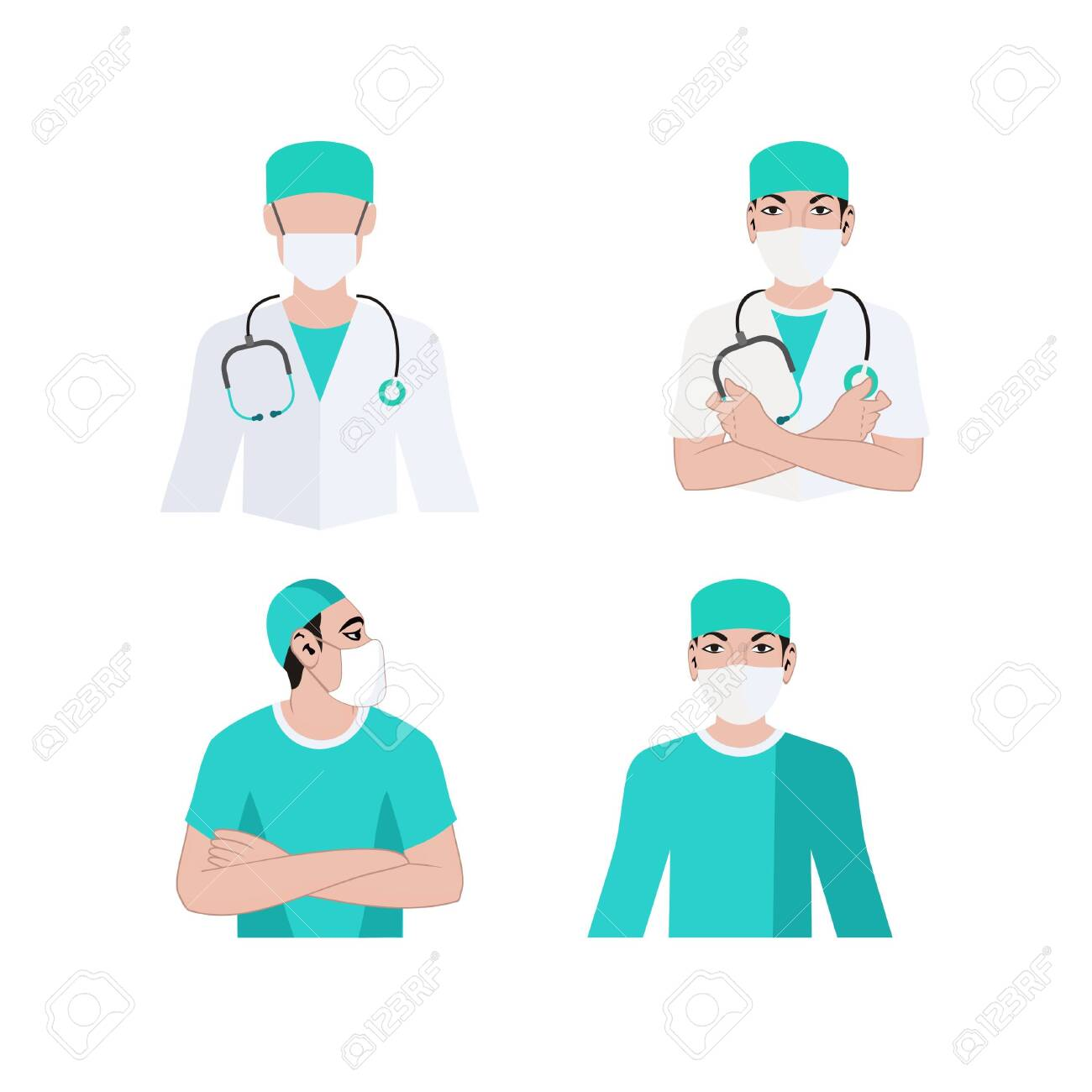 Doctor Medical Team Medical Doctor Surgeon Surgery Logo Royalty Free Cliparts Vectors And Stock Illustration Image 129709925