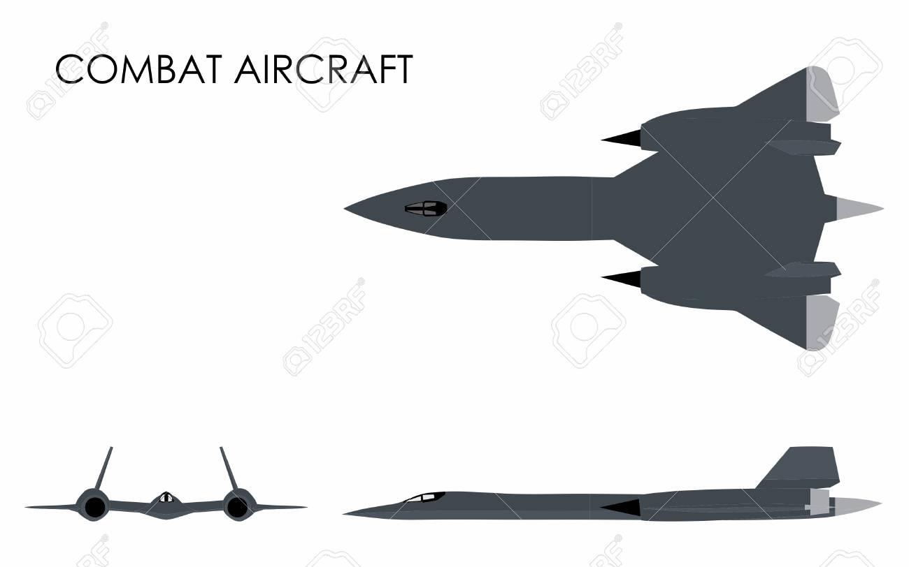 Combat Aircraft colored - 104888647